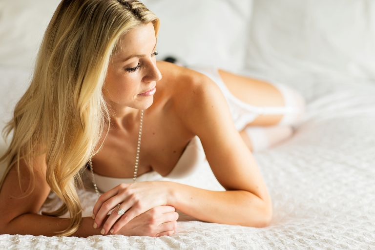 Ontario CA Boudoir Session NHL all white engaged Kirstin Burrows Photography_0002