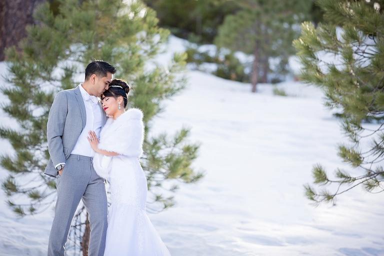 Big Bear Snow Bridal Session_0002
