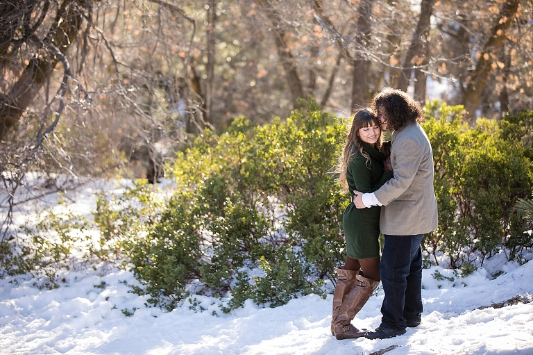 Big Bear Engagement Photos
