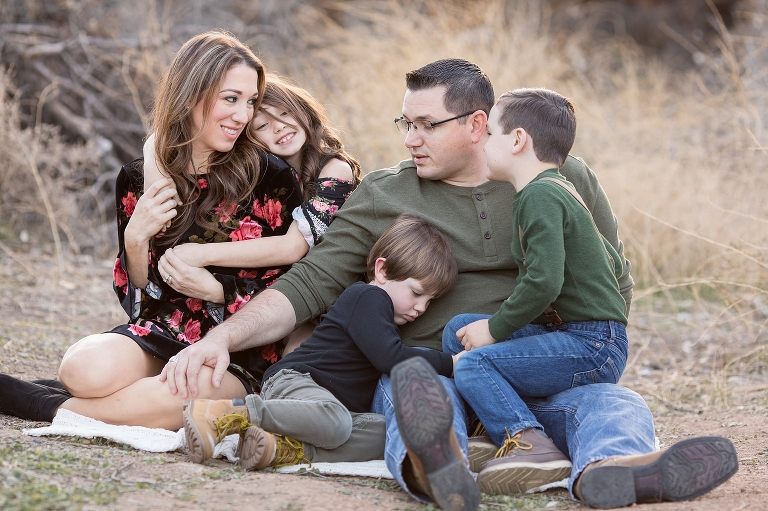 Glen Ivy Family Session