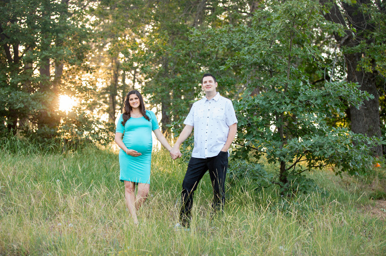 Lake Cuyamaca Maternity Photos
