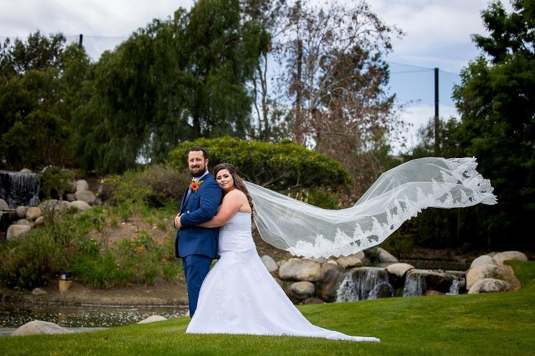 Coyote Hills Rainy Wedding